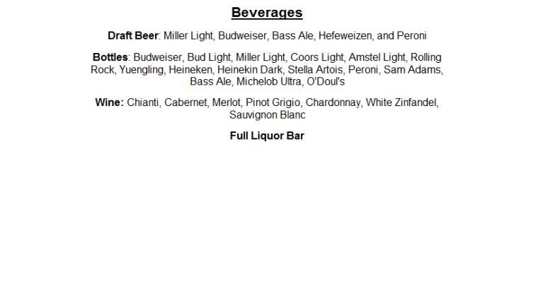 menu part 3