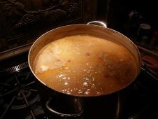 Homemade pasta fagioli!
